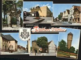 72506678 Ruethen Moehne Friedhofseingang Rathaus Hochtor Wasserturm Ruethen - Allemagne