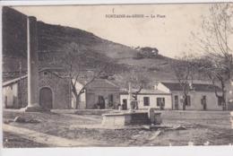 ALGERIE FONTAINE Du GENIE La Place - Algerien