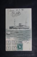 BATEAU - Carte Postale - Bateau  Espagnol - Affranchissement De Valencia En 1905 - L 44912 - Commerce
