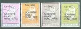 St Vincent: 1979   Soufriere Eruption Relief Fund OVPT   MNH - St.Vincent (...-1979)