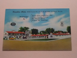 FRANKLIN Motel - 1028 Fremont St. St. ( U.S. 93-95-466 ) Approved Hotel AAA - Anno 19?? ( Zie/voir Photo ) ! - Las Vegas