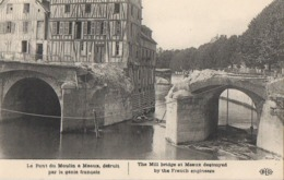 CP 77 Seine Et Marne Meaux Pont Du Moulin Par Le Génie Français ELD Le Deley - Meaux