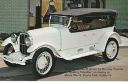 "1919 Chandler Driven By Dorothy Provine In ""Roaring Twenties""  Movie World, Buena Park, California Valvoline Oil Company - Advertising"
