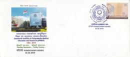 India  2019  GANDHIPEX  Mahatma Gandhi  Pondicherry  Special Cover  # 23496  D Inde  Indien - Mahatma Gandhi