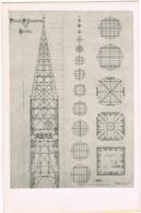 AK Lüneburg, Turm Der Johanniskirche, Zeichnung Um 1910 - Lüneburg