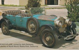 1925 McFarlane Owned By Jack Dempsey On Display At  Movie World, Buena Park, California Valvoline Oil Company - Advertising