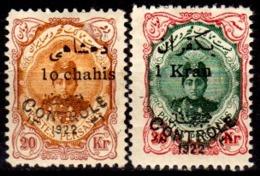 Iran-0154 - Emissione 1922-23 (+) LH - Senza Difetti Occulti. - Iran