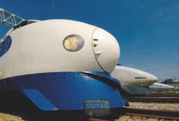 Japan - Shinkansen 0, 100 & 500 Series Trains - Eisenbahnen
