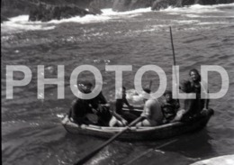 1972 SUBMARINE FISHING PENICHE PORTUGAL AMATEUR HALF 35mm ORIGINAL NEGATIVE Not PHOTO No FOTO - Photography