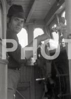 1972 TRAINEIRA  FISHING BOAT PENICHE PORTUGAL AMATEUR HALF 35mm ORIGINAL NEGATIVE Not PHOTO No FOTO - Photography