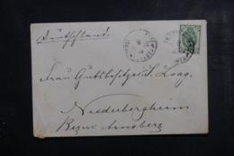 RUSSIE - Enveloppe Pour Niederbergheim En 1902, Affranchissement Plaisant- L 44926 - 1857-1916 Empire