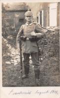 Krieg WW1 : 2 CP Artilleurs Allemands - 1914-18