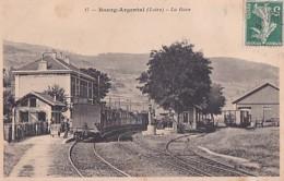 BOURG ARGENTAL         LA GARE  . - Bourg Argental