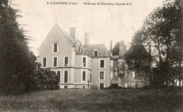 GIVARDON  ( 18 ) - Chateau D' Allardes - France