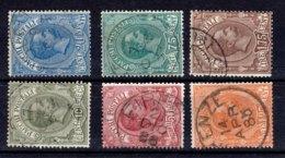 REGNO 1884 Pacchi Postali 1/6 - 1878-00 Humbert I.