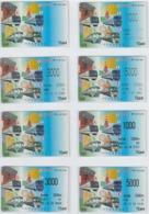 7 Cartes Différentes -TRAIN - LOCOMOTIVE - METRO - TRAMWAY - CHEMIN De FER - Carte PrépayéeJapon - Trains