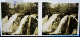 ROCHESSON, Vosges : Saut Du Bouchot. Plaque De Verre Stéréoscopique Positif - Diapositiva Su Vetro