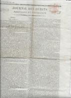 Rare Le Journal Des Débats Politiques Et Littéraires - 25 Janvier 1822 - Zeitungen