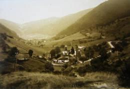 LE VALTIN, Vallée Et Village. Plaque De Verre Stéréoscopique Positif - Diapositiva Su Vetro