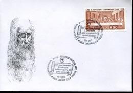48397 Italia, Special Postmark 2019 Lanciano Leonardo Da Vinci 500 Year Of Death - Arte