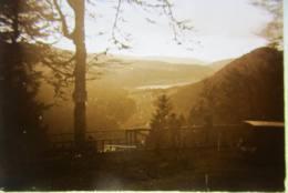 Vosges, Route Des Crêtes, 1927 : Vue Sur Le Lac. Plaque De Verre Stéréoscopique Positif - Diapositiva Su Vetro