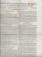 Rare Le Journal Des Débats Politiques Et Littéraires - 19 Janvier 1822 - Zeitungen