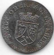 *notgeld Oberhausen 25 Pfennig 1919 Fe  390.3 - Autres