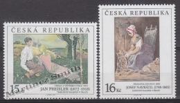 Czech Republic - Tcheque 1998 Yvert 196-97 Art, Paintings, Preisler & Navratil - MNH - Tschechische Republik
