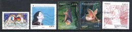 France 2013 : Timbres Yvert & Tellier N° 4711 - 4713 - 4740 - 4741 - 4817 Et 4826 Avec Oblit. Mécaniques. - France
