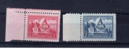1935  Legion Tchecoslovaque Y 296 297 **   Mi 336 -337 ** - Neufs