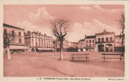 ***  47  *** TONNEINS  La Place Jean Jaurés Et La Halle - Neuve Excellent état - Tonneins