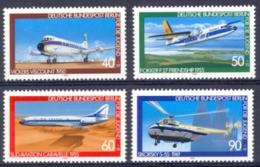 [43363]SUP//**/Mnh-Allemagne Berlin : N° 578/81, Aviation, Surtaxe (1980) - Avions