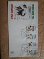 Antilles Néerlandaises Chiens Fdc - Dogs
