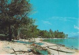 POLYNESIE FRANCAISE - MOOREA - - LE VILLAGE DES PECHEURS - Polynésie Française