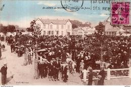 SAINT JEAN DE MONTS UN JOUR DE FOIRE 1922 TBE - Saint Jean De Monts