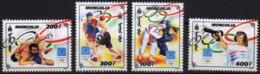 Mongolia 2004 Set 4 V MNH Olympic Games Wrestling Boxing Gun Shooting - Summer 2004: Athens