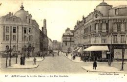 ARRAS Avant La Terrible Guerre - La Rue Gambetta - Ed C Ledieu - Arras