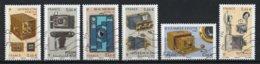 France 2014 : Timbres Yvert & Tellier N° 4916 - 4917 - 4918 - 4919 - 4920 Et 4921 Avec Oblit. Mécaniques. - Oblitérés