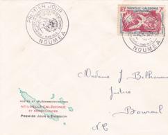 1958 - 1967 - Nouvelle Calédonie & Dépendances  - COLLECTION De 4 Enveloppes - 8 Scans - Neukaledonien