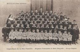 76, Seine Maritime, BLEVILLE, Orphelinat De La Sainte Famille, Scan Recto Verso - Otros Municipios