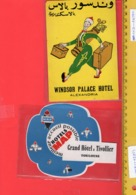 Large Collection 10.000 Hotel Etiketten, Own Collection + ALL Hotel Labels From COLLECTOMANIA In Delcampe =226 Loten - Etiquettes D'hotels