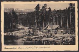 Krummhübel Karpacz Talsperrenbaude Riesengebirge Karkonosze Foto-Ak 1936 - Schlesien