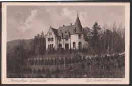 Postcard Agnetendorf Villa Gerhart Hauptmann Riesengebirge Ak Unbeschrieben Um 1920 - Schlesien