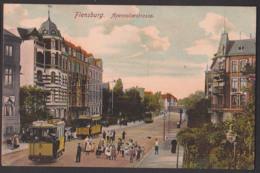 Flensburg Apenraderstraße Straßenbahn  CAk  Um 1905 - Flensburg