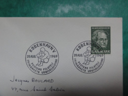 Copenhague - 1969 - PJ Martin Andersen Nexo - Affrancature Meccaniche Rosse (EMA)