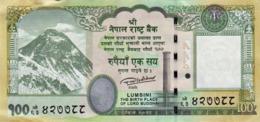 BRAND NEW NEPAL 100 Rupees  BANKNOTE LORD BUDDHA 2019 MINT/UNC - Nepal