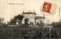 CPA RARE CARTELEGUE VILLA DES YMONANS - Autres Communes