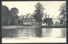 1.1 // CPA - Château De JODOIGNE - SOUVERAINE  // - Jodoigne