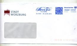 Lettre Flamme Frankit  Fete Mozart Würtzburg - [7] République Fédérale