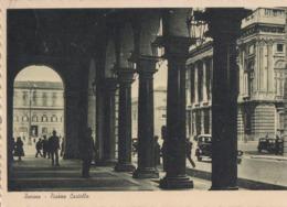 TORINO-PIAZZA CASTELLO-BELLA ANIMAZIONE-CARTOLINA VIAGGIATA IL 1-10-1938 - Places